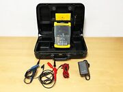 Fluke 199c Scopemeter 200mhz With P2200 Probes Leadset Adapter