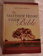 The Matthew Henry Study Bible King James Version Hard Cover Edition New Sealed