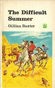 Difficult Summer The Dragon Books By Baxter Gillian Paperback Book The Fast