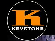 Keystone Wheels - Original Vintage 1960and039s 70and039s Racing Decal/sticker