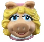 Vintage Miss Piggy Kids Cup, Muppets, Collectable, Applause