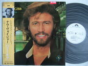 Promo White Label / Barry Gibb Now Voyager / Bee Gees Unplayed With Promo Sheet