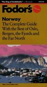 Norway With The Best Of Oslo Bergen The Fjords And The Far North... Paperback