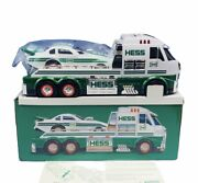 Hess Toy Truck Car Collectible Nib Box Vtg Diecast Dragster Semi Tractor Trailer