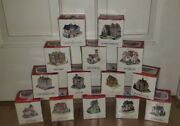 Lot Of 14 The Americana Collection Liberty Falls + Americana Pewter With Boxes