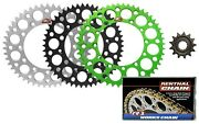 Renthal Front And Ultralight Rear Sprocket And R1 Mx Works Chain For Kawasaki Kx250