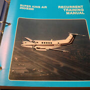 Beechcraft Super King Air 200 And B200 Recurrent Training Manual