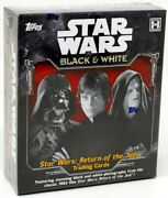 2020 Topps Star Wars Return Of The Jedi Black And White 12 Box Case Blowout Cards