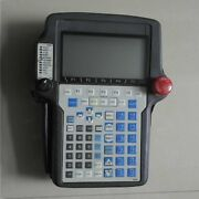 One Used Fanuc A05b-2301-c331 Teach Pendant Tested In Good Condition