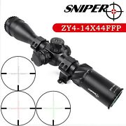 Sniper 4-14x44 Ffp First Focal Plane Hunting Rifle Scope 30mm Tube