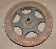 Monster Hit And Miss Engine Fly Wheel Punch Press Collectible 20 Diameter 148 Lbs