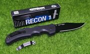 Cold Steel Recon 1 Clip Point Plain Edge 4 Blade Cpm S35vn Steel - 27bc