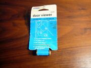 National Hardware V802 Series Door Viewer 160 Lens Viewing Angle 1/2 Hole Nos