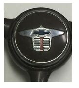 Vintage Heavy Duty Brown Chevy Chevrolet Steering Wheel With Horn Cap