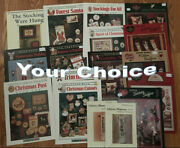 Christmas Santa Winter Snowman Counted Cross Stitch Charts-your Choice