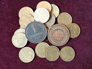 Ussr Old Coins.russian Coins.1 Kopek Of 1915.old Russian Coins.russian Money.