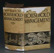 Mrs Beeton's Household Management A Complete Cookery Book Illustrated Ca1930 Dw