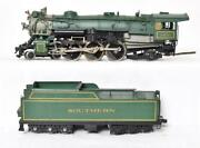 Pacific Fast Mail Southern Ho Scale Brass Ps4 Steam Locomotive And Tender