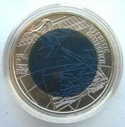 Austria 2003 City Of Hall 25 Euro Silver Niobium Coinunc