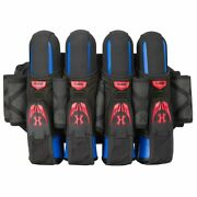 Hk Army Magtek Paintball Harness Pack 3+2+4 Red And Black