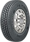 4 New Continental Hdl2 Dl Eco Plus - 275/80r22.5 Tires 27580225 275 80 22.5