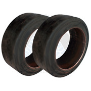 18x8x12-1/8 American Solid Forklift Tires 1881218 18812125   Usa Sm 2x Deal