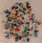 Large Lot Of Lego Mini Figures And Parts In Good Condition Star Wars Pirate More
