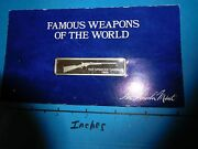 Spencer Carbine 1863 Rifle Carded Famous Weapons World Lincoln Mint Silver Bar