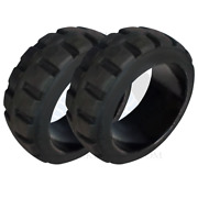 22x16x16 American Solid Forklift Tires 22-16-16 221616 | Usa Tr 2x Deal