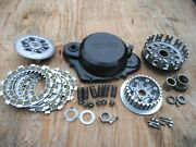1978 Yamaha Yz400 Yz 400 Clutch Assembly With Cover And New Plates Super Nice