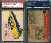 1955 World On Wheels 180 Ford Crown Victoria Red Back Psa 2 1393