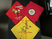 Valley Forge Council Philmont Contingent And 59 Scout-o-rama Neckerchief Eb23