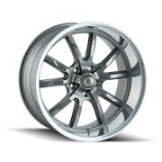 Cpp Ridler 650 Wheels 18x8 + 20x10 Fits Ford Mustang Falcon Galaxie