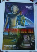 Day The Earth Stood Still 1994 Sci-fi Reissue Movie Poster Michael Rennie