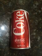 🔴 Red 1970and039s-80and039s Vintage Steel Coca Cola No Top Kansas Pen Holder Crafts