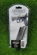 Walther P22 .22 Lr Standard 10 Rounds Mag Magazine W/o Finger Rest - 512602