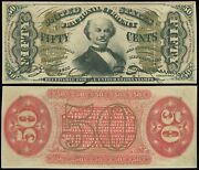 Fr1328 50andcent Fractional Currency Third Issue Superb Gem Colby Spinner Garyposner