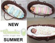 New Woombie Summer Baby Swaddle Choose Size And Color