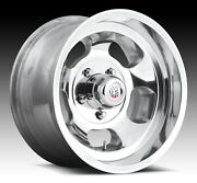 Cpp Us Mags U101 Indy Wheels 15x8 + 15x10 Fits Ford F100 Pickup 1948-1979 2wd