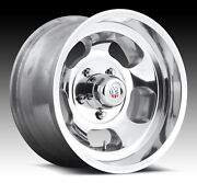 Cpp Us Mags U101 Indy Wheels 15x7 + 15x8 Fits Ford F150 Pickup 1986-1996 2wd
