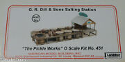 American Model Builders 451 G.r. Dill And Sons Salting Station Laser-cut Wood