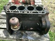 Ih 340 Utility Engine Block From Running Tractor