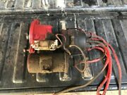 Ih Farmall 350 Distributor And Coil From Running Tractor