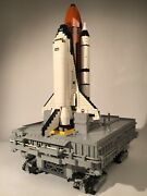 Custom Lego Crawler And Mobile Launch Platform With Space Shuttle Kit 10231andnbsp