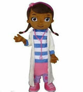 New Doc Mcstuffins Adult Mascot Costume Fancy Dress For Christmas Party