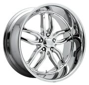 Cpp Us Mags U127 C-ten Wheels 18x9.5 Fits Chevy Impala Chevelle Ss