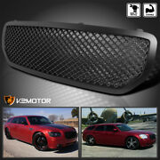For 2005-2007 Dodge Magnum Honeycomb Black Front Hood Replacement Grill Grille