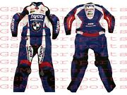 Motorbike Bmw Racing Leather Tow Piece Suit All Size Available