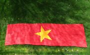 East German Made 2 Sided Vietnam Banner For State Visits Size 400 X 120