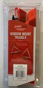 Justincase - Window Mount Reflective Safety Triangle Help Save Your Mirror's-new